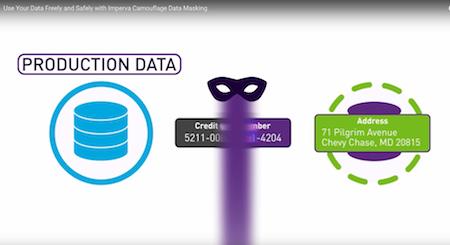 「Imperva Camouflage Data Masking」的圖片搜尋結果