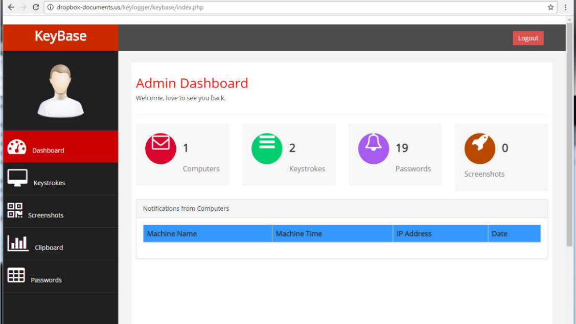 Pony admin dashboard