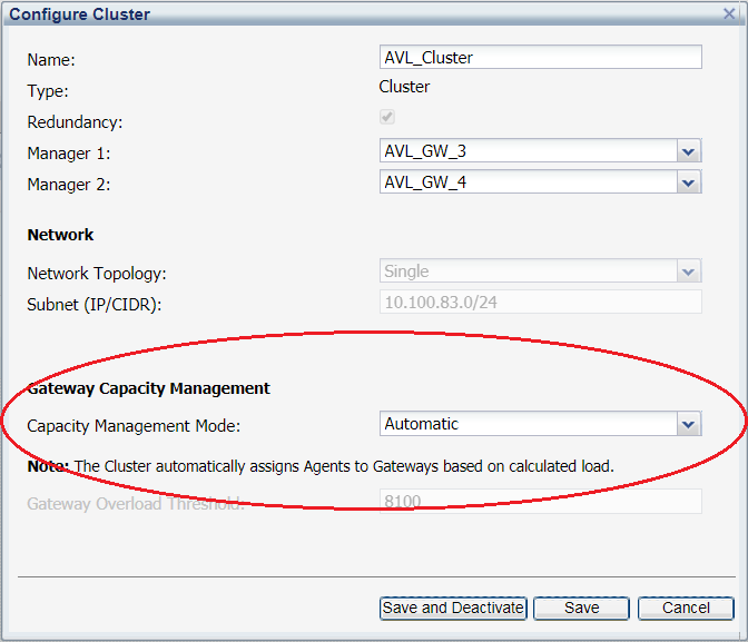 Configuring automatic load balancing in SecureSphere - 3
