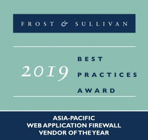 Frost & Sullivan 2019 Asia-Pacific Web Application Firewall Vendor of the Year for WAF