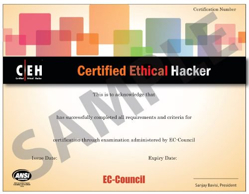 ceh certificate ethical hacking imperva certification hat sample security