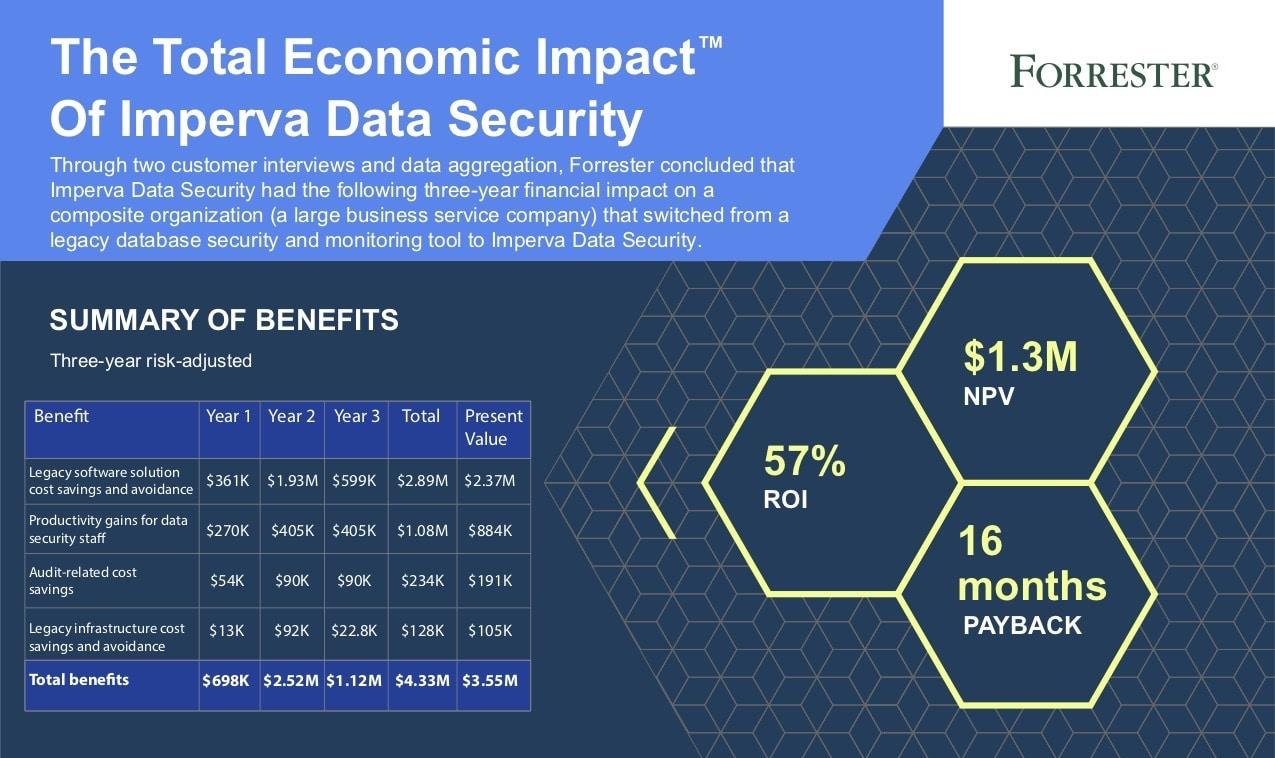 The total economic impact of Imperva DS