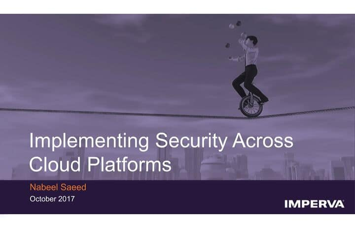Security Across Cloud Platforms