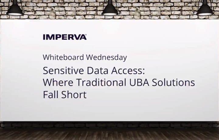 Traditional UBA Solutions