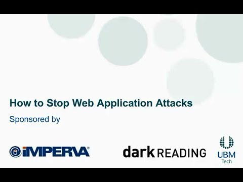 How to stop web app attacks